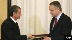 Игорь Сечин и Волдемэр Полэк
