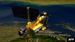 Vệ tinh nghiên cứu thượng tầng khí quyển được phi thuyền con thoi Discovery phóng vào quỹ đạo vào năm 1991 và đã trải qua hơn 7.300 ngày trong không gian