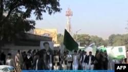 Ožalošćeni nose sliku ubijenog bivšeg avganistanskog predsednika Burhanudina Rabanija