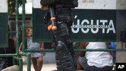 """Alias """"Pau Pau"""", de 28 años de edad y quién era miembro activo de la Policía Estatal venezolana, fue detenida e informada de su deportación el pasado jueves."""