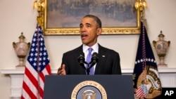 Rais Barack Obama akihotubia taifa kutoka White House