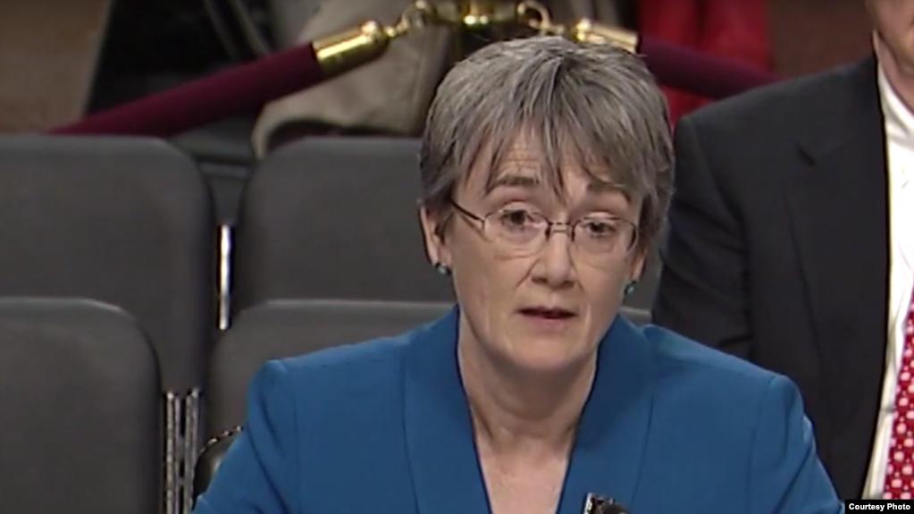 威尔逊2017年3月30日在参议院作证(美国国会照片)