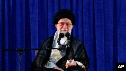 아야톨라 알리 하메네이 이란 최고지도자.