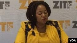 Umgcinisihlalo wenkampani yeZITF, uNkosikazi Ruth Ncube.