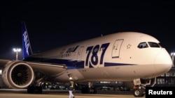 Un avión Boeing 787 Dreamliner similar a este aterrizó de emergencia en el aeropuerto de Glasgow.