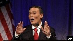 王岐山2009年在美中战略与经济对话上讲话。(资料照片)