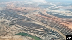 位於贊比亞境內的Equinox銅礦場的俯瞰圖(資料圖片)