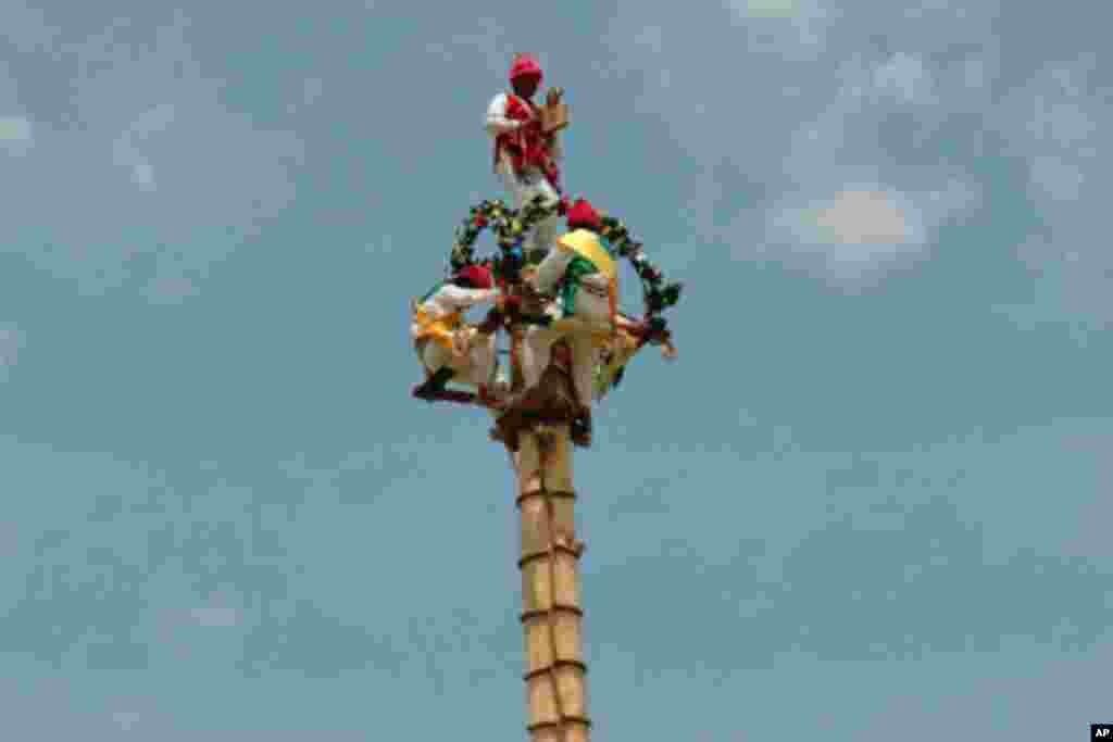 墨西哥农民祈求获得良好收成的仪式