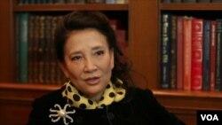 英國籍華人作家張戎 (視頻截圖)