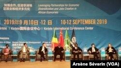 Des discussions sur le financement du développement en Afrique se déroulent à Brazzaville, le 10 septembre 2019. (VOA/Arsène Séverin)