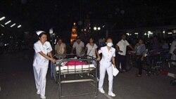 زلزله ۶ و ۸ دهم ريشتری برمه در نزديکی مرز تايلند بيش از ۵۰ نفر تلفات به بار آورد