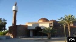 Masjid Islamic Center di Tucson, negara bagian Arizona. Islamic Center ini adalah masjid yang terbesar di kota Tucson.