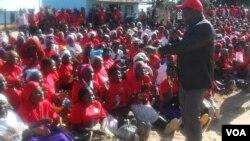 Prime Minister Morgan Tsvangirai captured in Hwedza, Mashonaland East Province