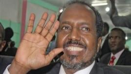 Somalia's new president Hassan Sheikh Mohamud Sept. 10, 2012