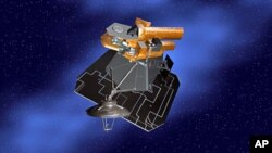 NASA's Deep Impact spacecraft, illustrated in this artist's concept, has an appointment with comet Hartley 2, 28 Oct 2010