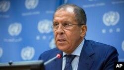 Bộ trưởng Ngoại giao Nga Sergei Lavrov.