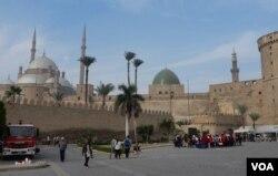 Đền thờ Hồi giáo al-Nasir Mohammad ở Cairo (Ảnh: Bùi Văn Phú)