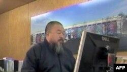 Nghệ sĩ bất đồng chính kiến Trung Quốc Ngải Vị Vị sẽ sử dụng Skype để giúp thiết kế một sảnh đường cho Thế Vận hội London 2012