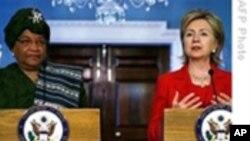 美国务卿:美国支持利比里亚总统瑟利夫