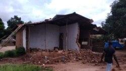 Chuva deixa destruição na Guiné-Bissau