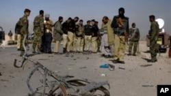 巴基斯坦自殺襲擊死傷嚴重。