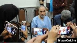 محمدعلی نجفی در دادسرای امور جنایی تهران
