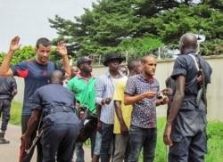 Thierry Moungalla joint par Idriss Fall