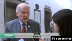 """VOA连线(樊冬宁):美众院通过《台湾旅行法》,蔡英文发推感谢,环时: """"要美台付出代价!"""""""