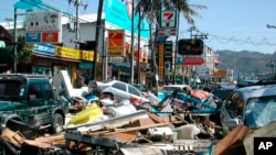 December 26th 2019 marks the 15 year anniversary of the Indian Ocean Tsunami which struck Southern Asia on December 26, 2004. This file photo of Phuket, Thailand was taken moments after the Indian Ocean Tsunami ravaged Southern Asia on December 26, 2004.