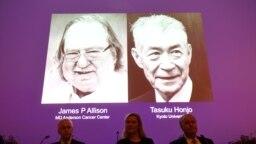 El estadounidense James Allison y el japonés Tasuku Honjo recibieronelPremioNobelde Fisiología oMedicina2018, el lunes 1 de octubre.