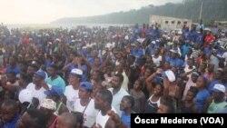 Campanha presidencial 2021, São Tomé Príncipe