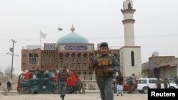 مسجد باقر العلوم در شهر کابل و سال گذشته هدف حملۀ مرگبار داعش قرار گرفت
