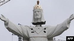 Статуя Христа в Свебодзине