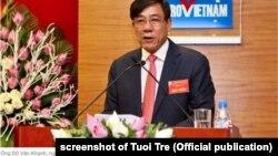 Cựu TGĐ của PVEP, ông Đỗ Văn Khạnh, mới bị bắt vì liên quan đến vụ OceanBank