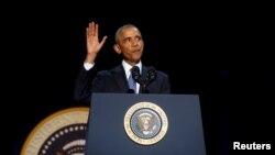 باراک اوباما پس از هشت سال ریاست جمهوری قدرت را به دونالد ترمپ رئیس جمهور منتخب امریکا تحویل می دهد