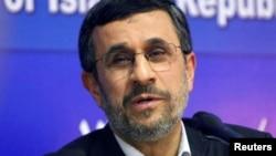 Mantan Presiden Iran, Mahmoud Ahmadinejad (foto; dok).