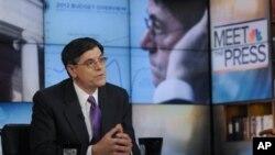 Jack Lew, dužnosnik Bijele kuće odgovoran za državni proračun, govori za mrežu NBC