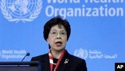 Tổng giám đốc Tổ chức Y tế Thế giới, bà Margaret Chan