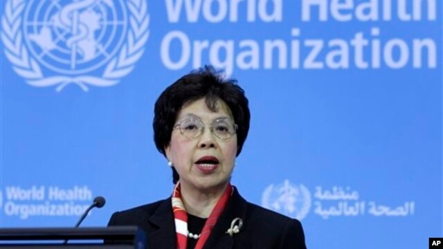 WHO Director-General Margaret Chan warns of the risks of unhealthy lifestyles.