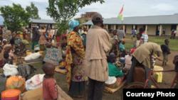 Abanyagihugu bavuye mu zabo kubera imvura nyinshi muri Zone Buterre, komine Ntahangwa, mu gisagara ca Bujumbura