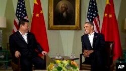 바락 오바마 미국 대통령과 시진핑 중국 국가주석이 지난 7일과 8일 미 서부 캘리포니아에서 정상회담을 가졌다.
