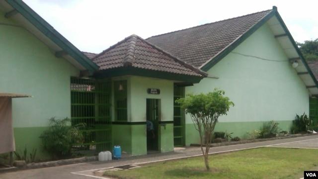 Blok Anggrek, Lapas Sleman, Yogyakarta (VOA/Nurhadi).