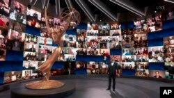 72. Emmy Ödülleri'nin sanal törenini ünlü talk show sunucusu Jimmy Kimmel sundu.