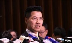 香港本土立法会议员范国威。