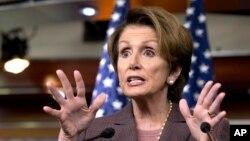 Lãnh tụ phe Dân chủ tại Hạ viện Hoa Kỳ Nancy Pelosi.