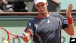 Andy Murray mundur pada babak kedua turnamen Italia Terbuka (foto: dok).
