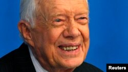 L'ancien président Jimmy Carter (Reuters)