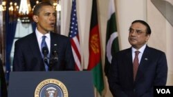 Obama y su homólogo pakistaní Asif Ali Zardari tuvieron un encuentro en Washington para mejorar los esfuerzos de ambas naciones en el combate contra el terrorismo.