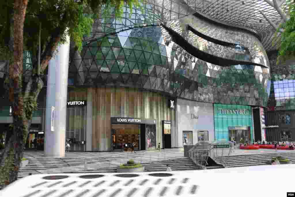 اغلب برندهای بزرگ و کوچک در سنگاپور نمایندگی دارند.