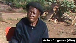 Florence Ndlovu, Founder, Chengetanai Old People's Home, Chinhoyi, Mashonaland West Province.